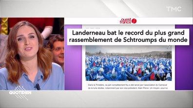 La revue de presse d'Alison Wheeler : pendant que la France panique, les Bretons se font Schtroumpfs