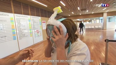 La seconde vie des masques de plongée de Decathlon
