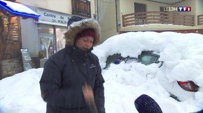 La station de Font-Romeu-Odeillo-Via se couvre de neige