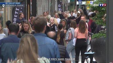 La Suède, un pays sans masque