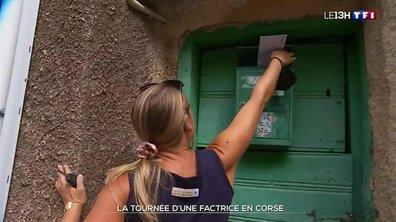 La tournée d'une factrice en Corse