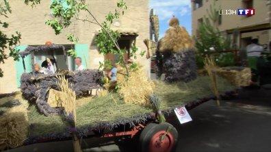 La traditionnelle fête de la lavande se tient à Sault