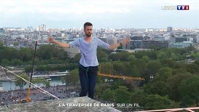 La traversée de Paris sur un fil