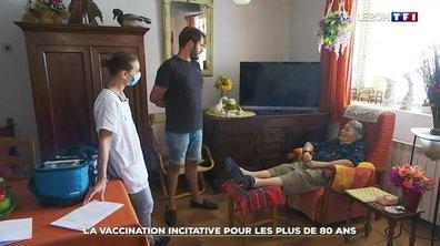 La vaccination incitative pour les plus de 80 ans