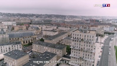 La vallée de la Seine vue du ciel au temps du confinement