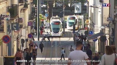La ville d'Angers, confrontée à des violences inhabituelles