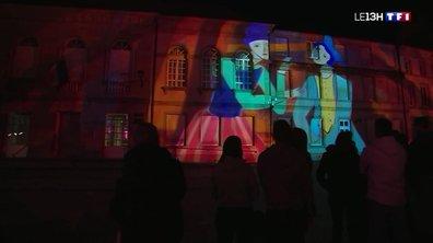 La ville d'Epinal s'illumine pour la Fête des Images