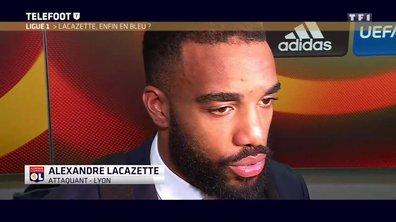 [Exclu Téléfoot 12/03] - Equipe de France : Lacazette attend son heure