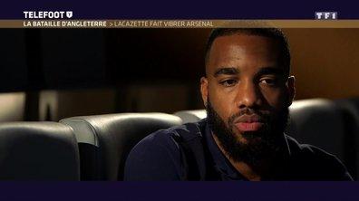 """[EXCLU Téléfoot 10/09] - Lacazette évoque la concurrence avec Giroud à Arsenal : """"Il n'y a aucune raison d'en vouloir à l'autre"""""""