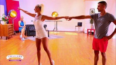 Laetitia et Lionel dansent avec Katrina Patchett