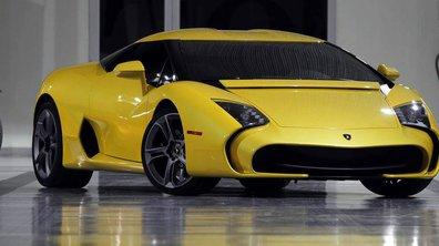 Lamborghini 5-95 Zagato 2014 : le deuxième exemplaire de sortie