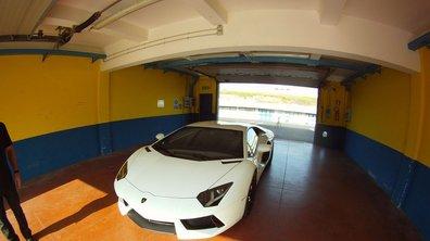 La Lamborghini Aventador en pièces