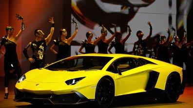 Salon de Shanghai 2013 : Lamborghini Aventador LP720-4 50° Anniversario