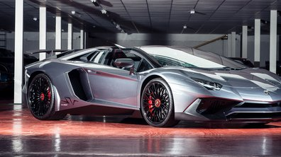 Une Lamborghini Aventador SV Roadster en vente à Salon Privé
