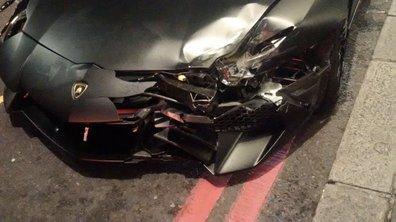 Insolite : une Lamborghini Aventador SV détruite à Londres