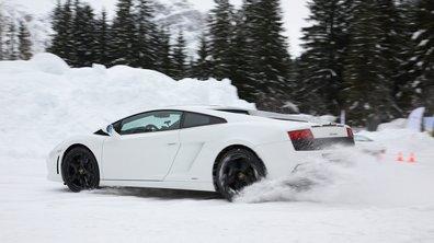 """Duel """"No Limit"""" en Laponie : 911 GT3 vs Gallardo"""