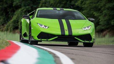 Lamborghini personnalise un peu plus sa spectaculaire Huracan