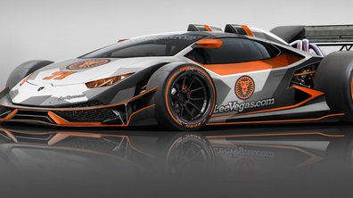 "Design : il imagine une Lamborghini Huracan ""F1"""