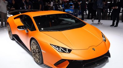 Salon de Genève 2017 : Huracán Performante, le petit supercar Lamborghini au grand record