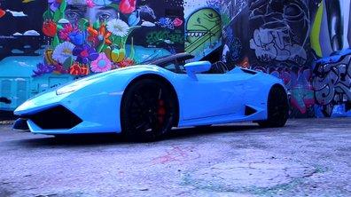 Teaser : la Lamborghini Huracan LP 610-4 Spyder à l'essai