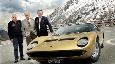 """Lamborghini fête les 50 ans de la Miura façon """"Braquage à l'italienne"""""""