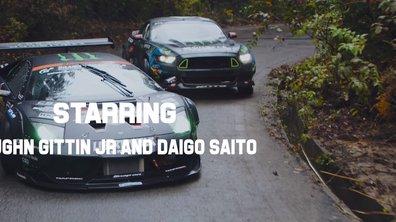 Insolite : Un concours de drift entre une Ford Mustang et Lamborghini Murcielago