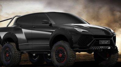 Insolite : Et si le Lamborghini Urus avait six roues ?