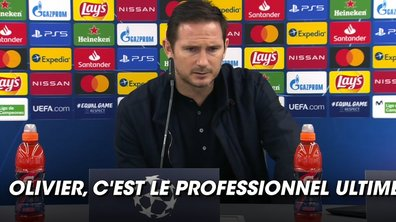 VIDEO - Lampard rend hommage à Giroud