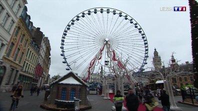 Lancement des festivités de Noël à Lille
