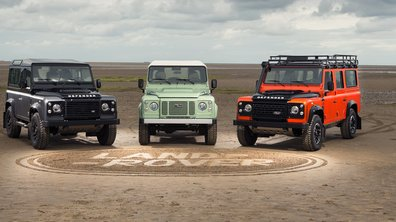 Land Rover Defender 2015 : 3 éditions finales et une vidéo spéciale