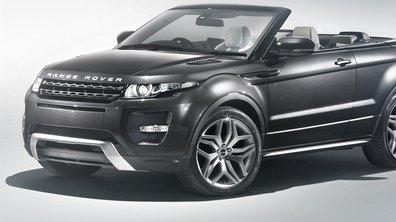 Salon de Genève 2012 : Range Rover Evoque Cabriolet Concept