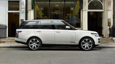 Range Rover : une nouvelle version longue pour 2014