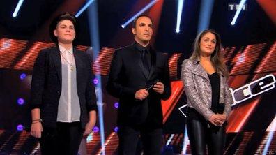 The Voice: Entre Laura  Chab' et Claire, Jenifer a  fait son choix!