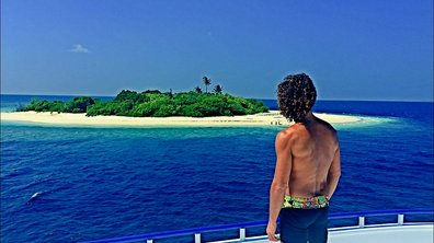 Laurent Maistret prend le soleil aux Maldives !