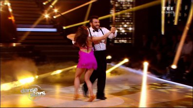 Laurent Ournac et Denitsa, un quickstep sur « It's not unusual »  (Tom Jones)