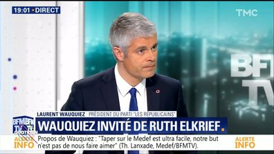 Laurent Wauquiez porte plainte contre Quotidien, la mise au point de Yann Barthès