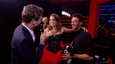 #DALS Interview : Laury Thilleman rayonnante dans la Red Room après sa prestation !