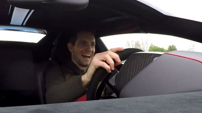 Teaser : Renaud Lavillenie teste la Lamborghini dans Automoto