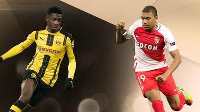 Dortmund-Monaco : Dembélé-Mbappé, un duel de rêve
