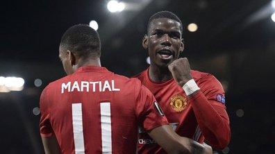 Pogba et Martial rayonnent en Premier League
