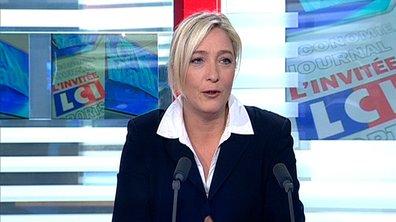 Politique : Marine Le Pen n'aime pas l'équipe de France