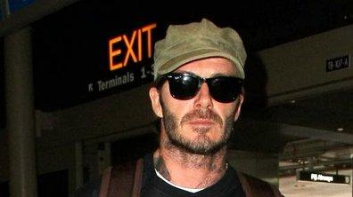 Cicatrices, dents pourries, David Beckham est défiguré… pour le cinéma