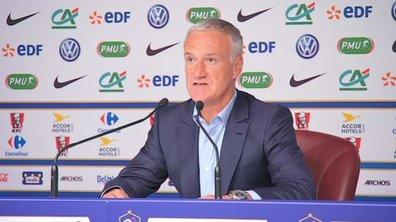 Equipe de France: la liste de Didier Deschamps pour affronter le Pays de galles et l'Allemagne