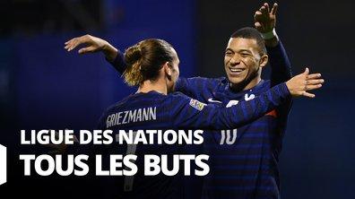 Ligue des Nations : Voir tous les buts des matches des Bleus en vidéo