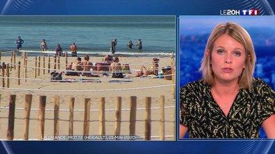 """""""Le 20H vous répond"""" : devra-t-on respecter une certaine distance sur les plages ?"""