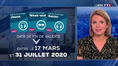 """""""Le 20H vous répond"""" : la validité des cartes de réduction SNCF est-elle prolongée ?"""