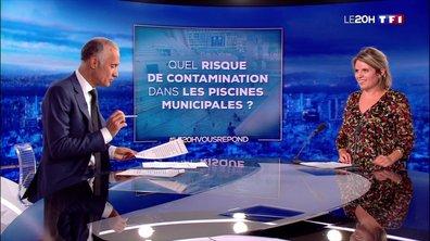 Le 20H vous répond : quel est le risque de contamination dans les piscines municipales ?