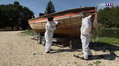 Le bateau de l'acteur Fernandel restauré dans les Bouches-du-Rhône