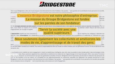 """Le bon gros bullshit de Bridgestone sur ses """"valeurs"""""""