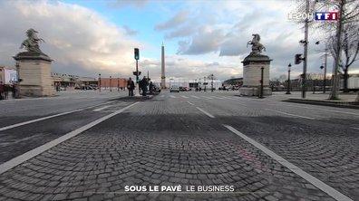Le business autour du pavé parisien